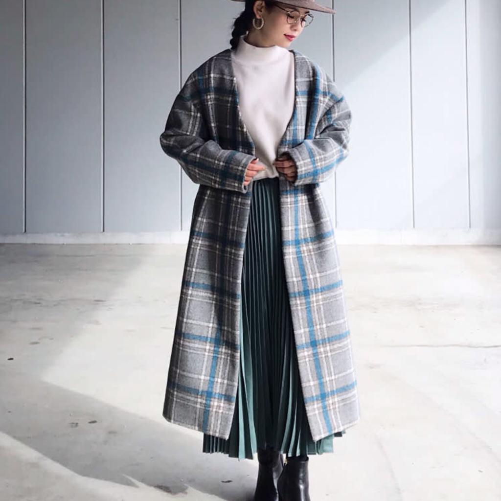 ロングスカートで女っぽく♡12月&1月の大人コーデ