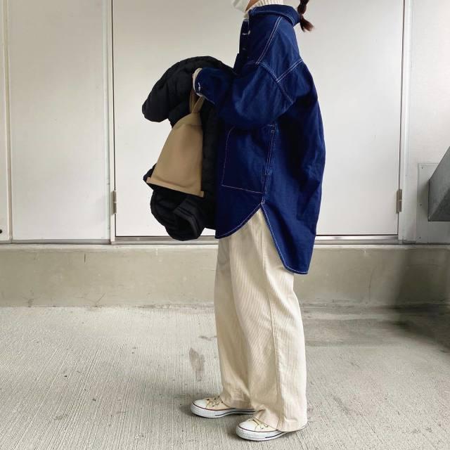【デニムシャツ】、今キテます!!ガーリーからコンサバまで集めちゃいました♡